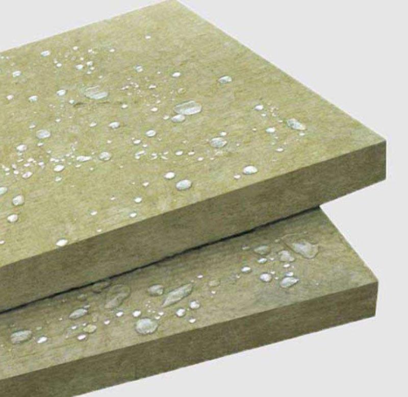 High performance insulation building material firproof waterproof rock wool board