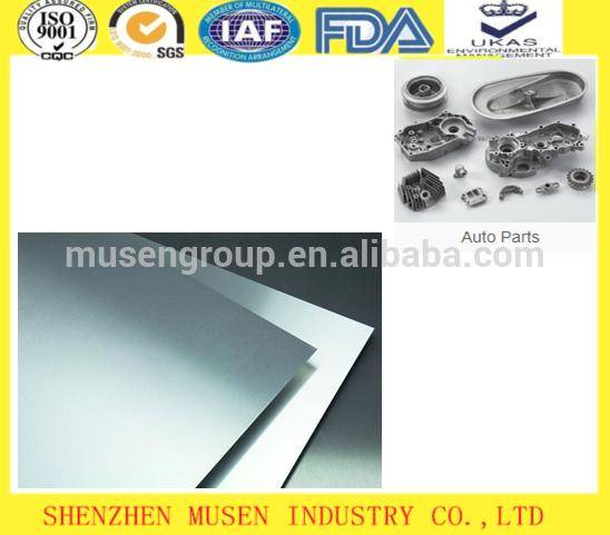 Auto Parts Aluminum Sheet Coated Plate Hot Rolling