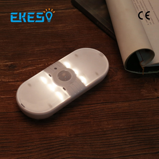 High efficient low cost battery powered motion sensing led emergency lights