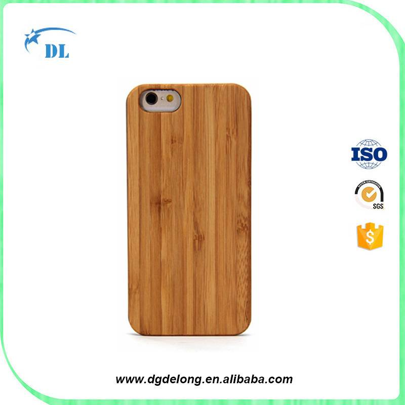 Hot Sale Wooden Phone Case Bamboo Mobile Phone Cover for iphone 6