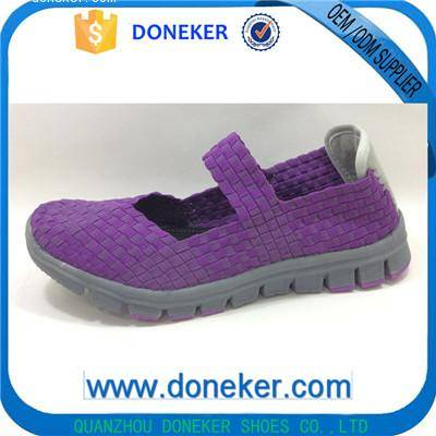 2016 Fashion Lady Woven Shoes