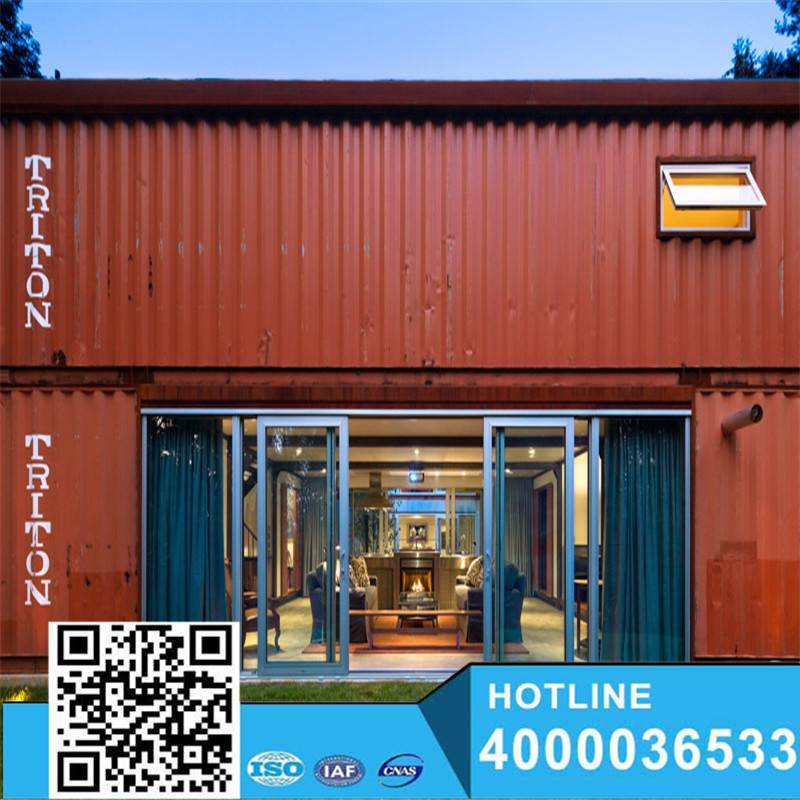 High quality ISO certificate 20ft luxury container house