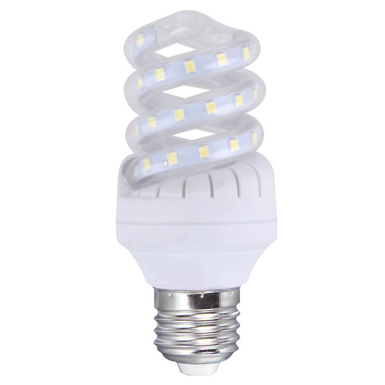 LED bulb Spiral shape , 7w