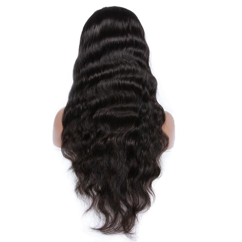 "Wholesale cheap human hair full lace wig , 6""-32"" 100 % brazilian human hair wig"