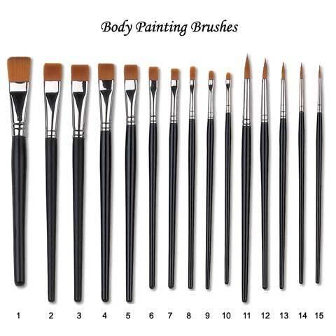 Body Painting Brush, Bodypainting Brush