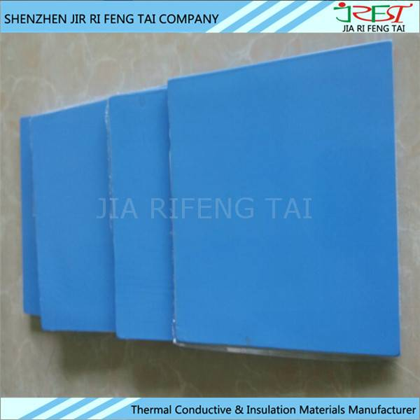 High thermal insulatino silicon sheet