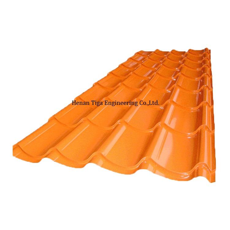 glazed PPGI roofing sheet