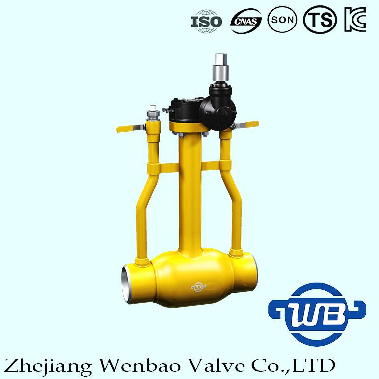 underground Fully welded Ball Valve