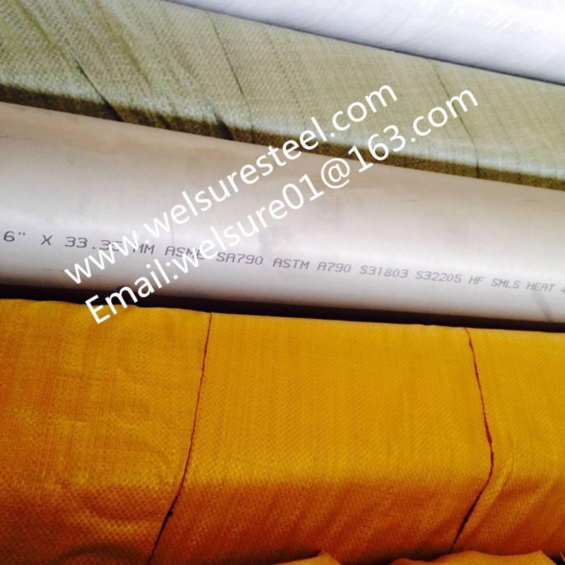 ASME SA 790 6'' S 31803 S 32205 Stainless Steel Tubing