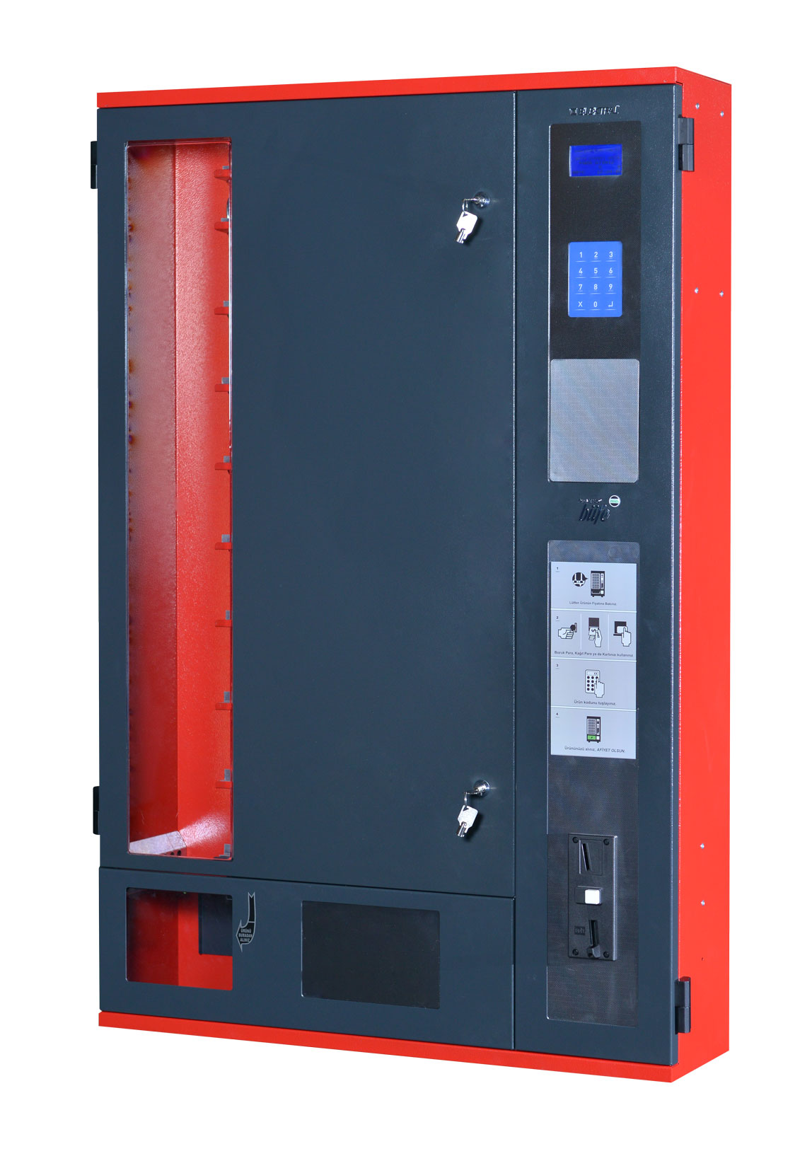 Slim Line Multi-Purpose Spiral Vending Machine