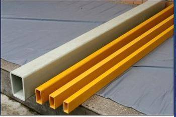 Nantong I&Y frp flat tube pultruded profiles