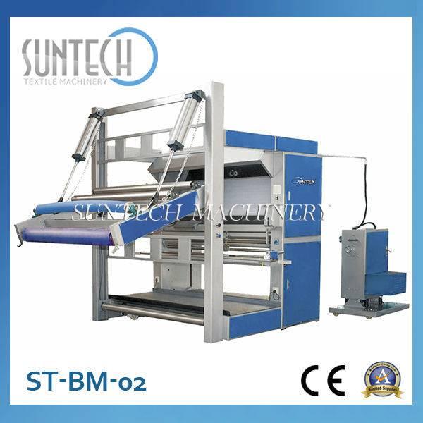 ST-BM-02 PLC Control Cheap Fabric Rolling Machine