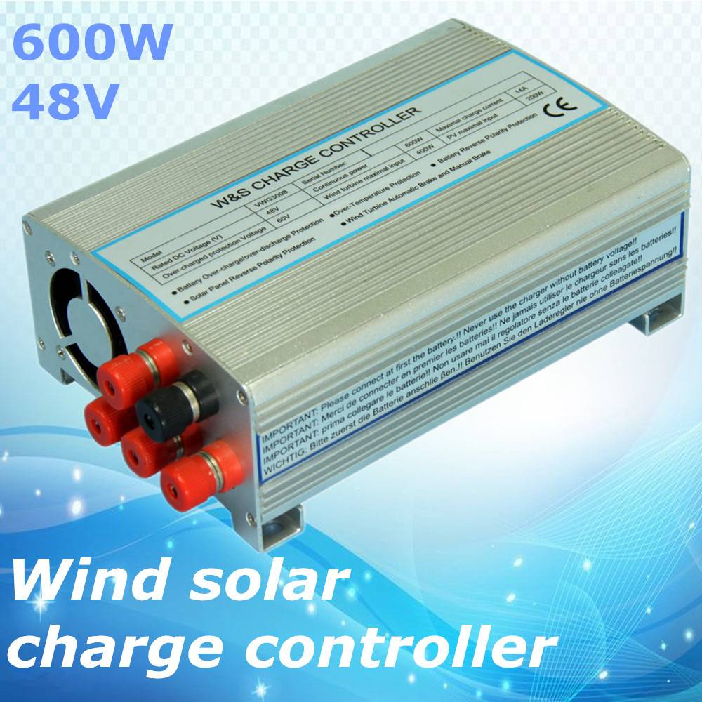 High efficiency wind solar charger controller 600W 48Vfor wind turbine and solar panel