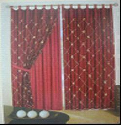 organsa embroidery curtain