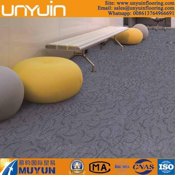 Commercial Carpet Effect Waterproof PVC Vinyl Floor