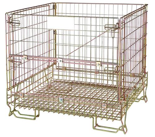 Warehouse wire containers