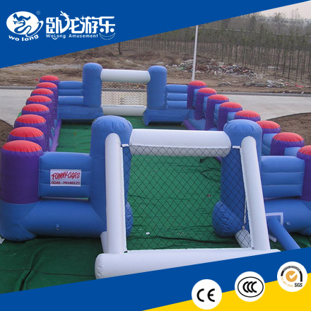 inflatable football pitch, inflatable products for sports game