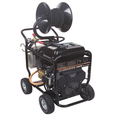 Portable commercial cold water pressure washer machines