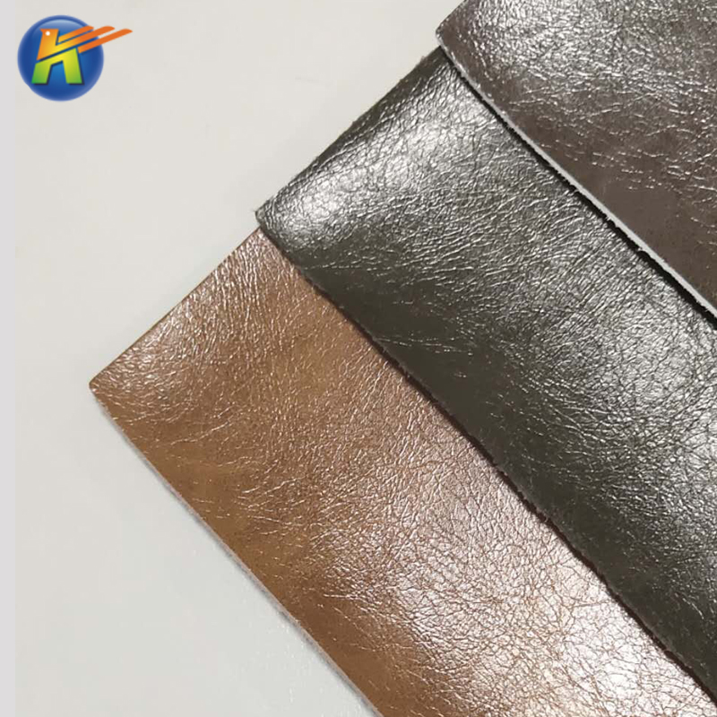 water proof synthetic material microfiber leather for beach shoes