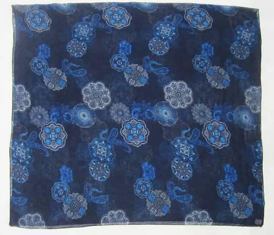2014women's geometry flowers print scarf PG947