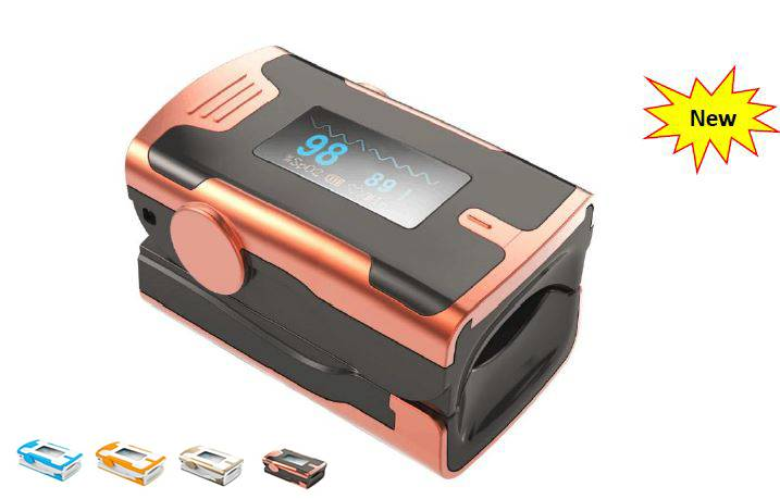 New Fingertip Pulse Oximeter with Bluetooth Optional
