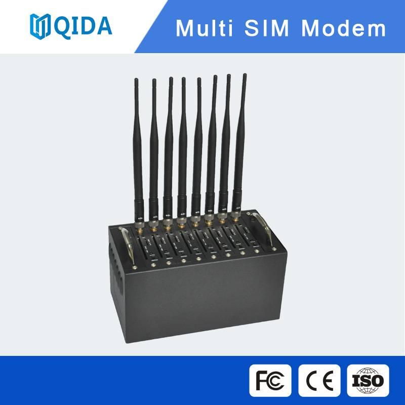 8 port q2406 Gprs gsm modem recharge modem pool gsm wavecom modem bulk sms