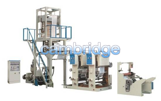 Union of PE Film Blowing Machine with Rotogravure Printing Machine