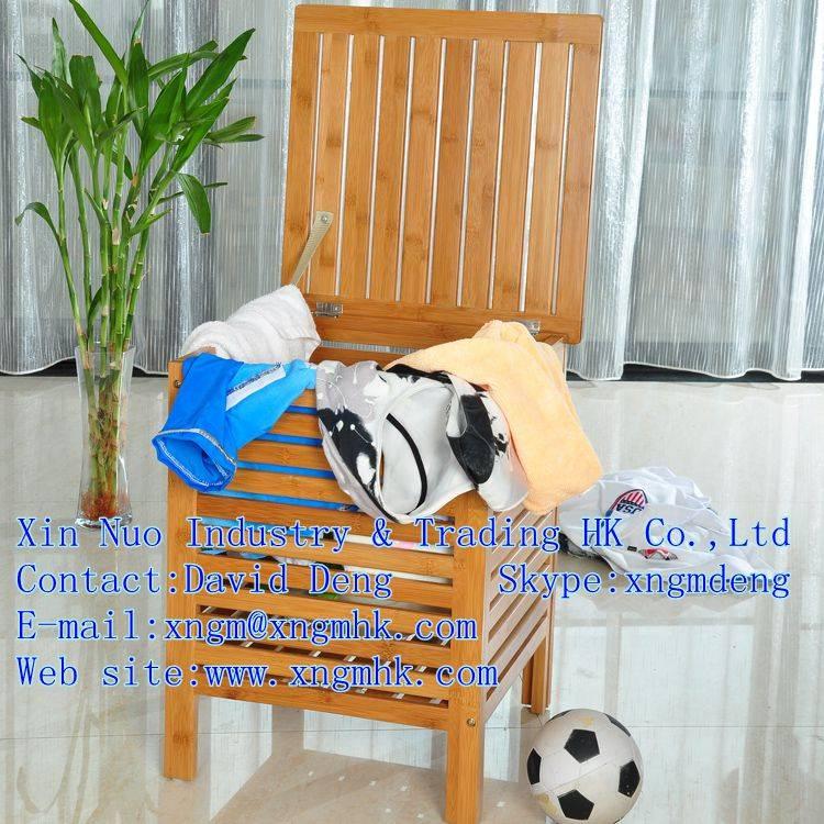 Wooden Clothes Storage Box , Wooden Storage basket , bamboo glove box
