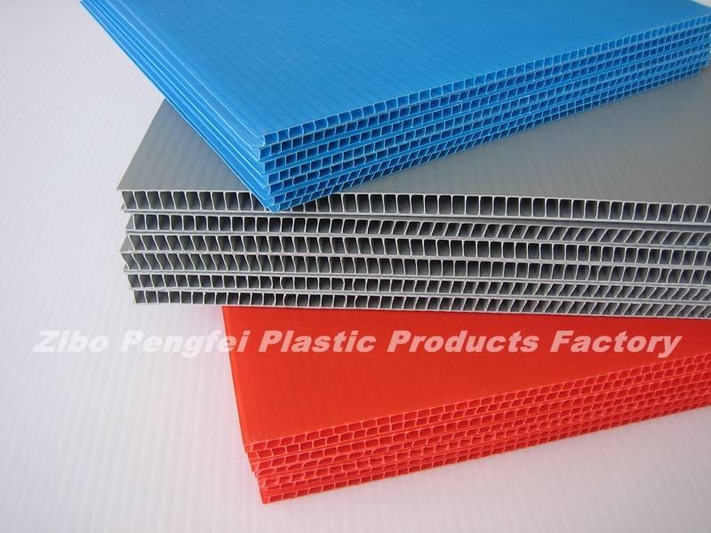 Washable PP Corrugated Plastic Sheet, PP Corrugated Board