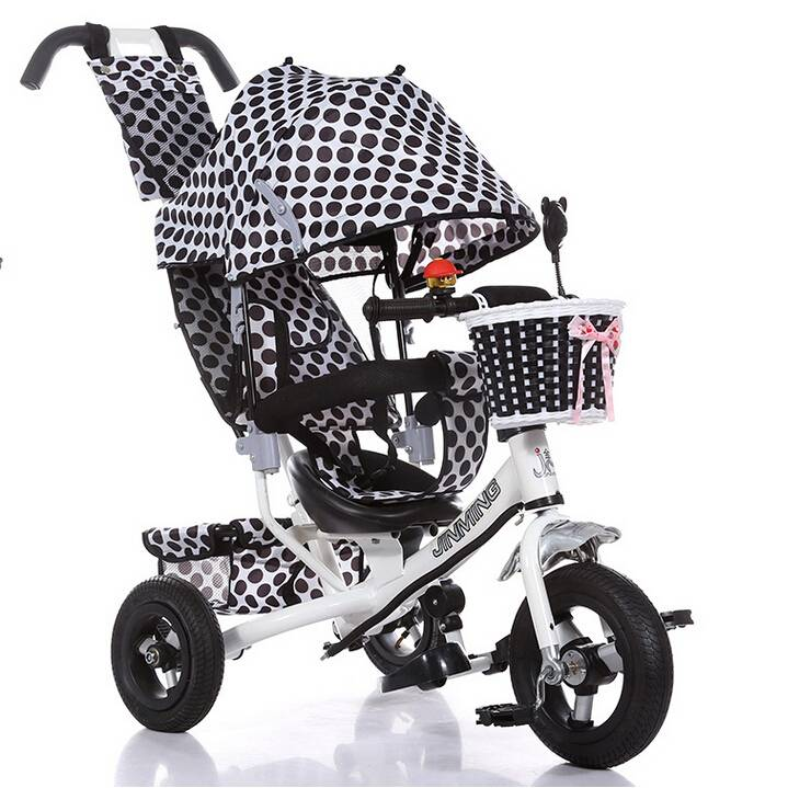 QJ-523 4 in 1 tricycle for 2 to 5 years old /3 wheels ride on / Qiangjiu Bicycle Group