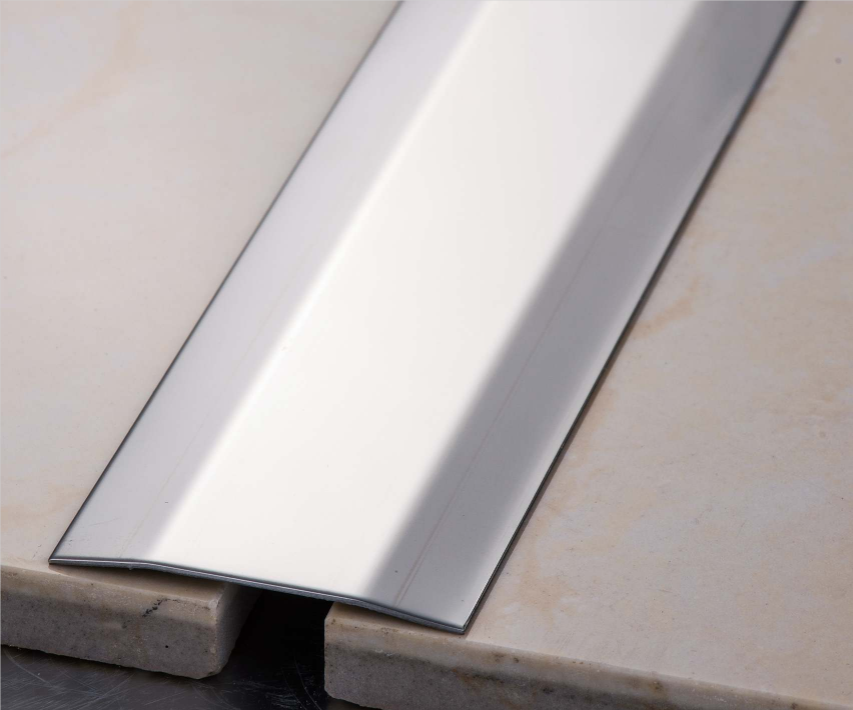 Stainless Steel Tile Trim Square Shape 304 316 Grade Metal Decoration Floor Transition Strips