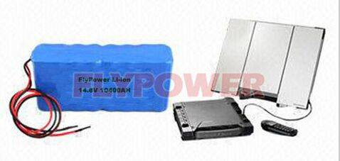 14.8V 10400mAh 18650 Lithium ion battery pack