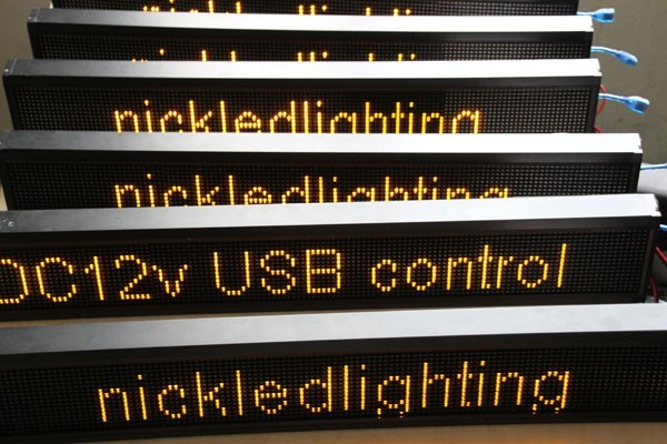 led module dispaly led text sign led moving sign led board display led bus desitination display