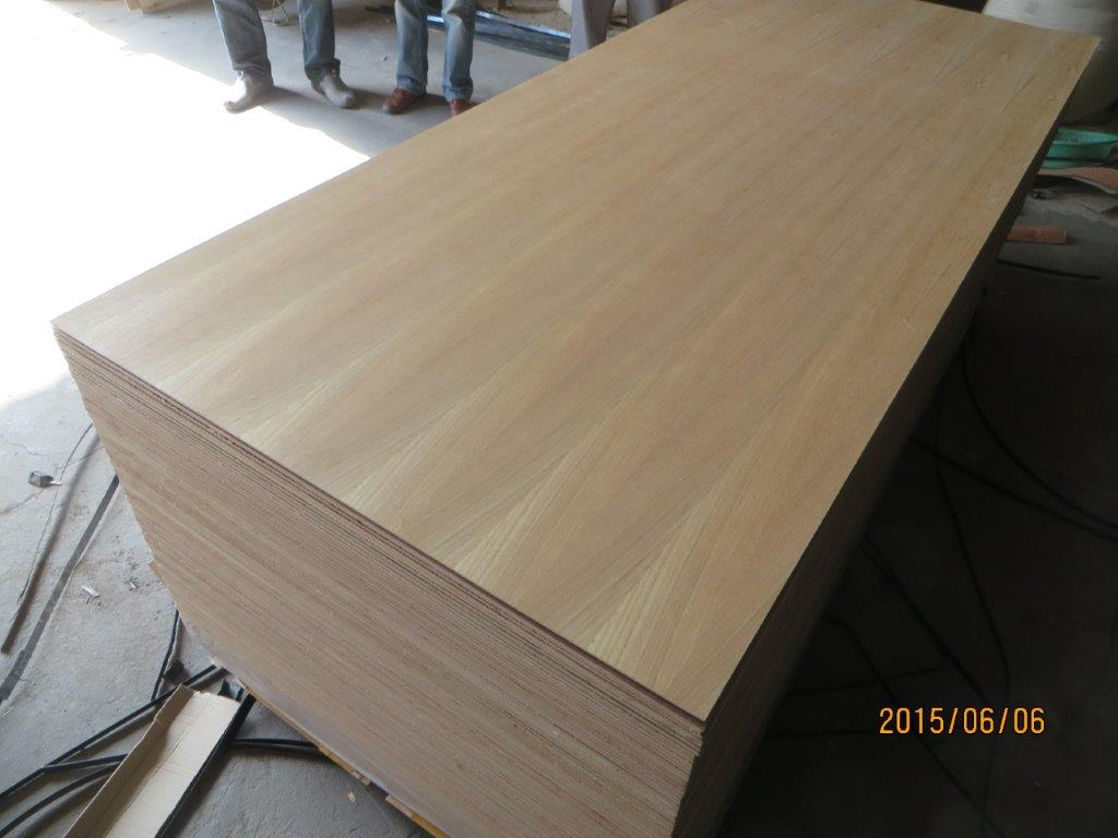 BURMESE TEAK VENEERED PLYWOOD, HARDWOOD CORE SIZE:483.6MM