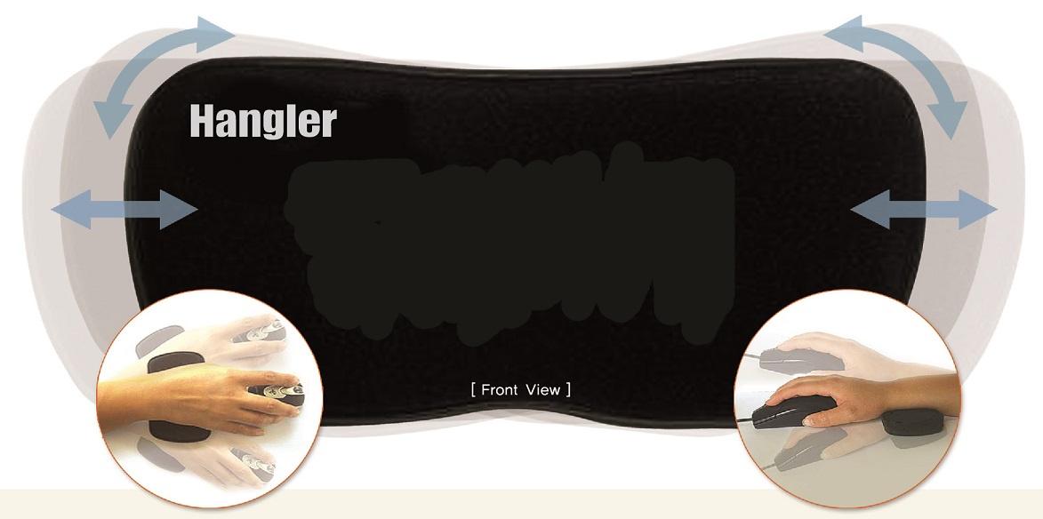 hangler - mouse pad