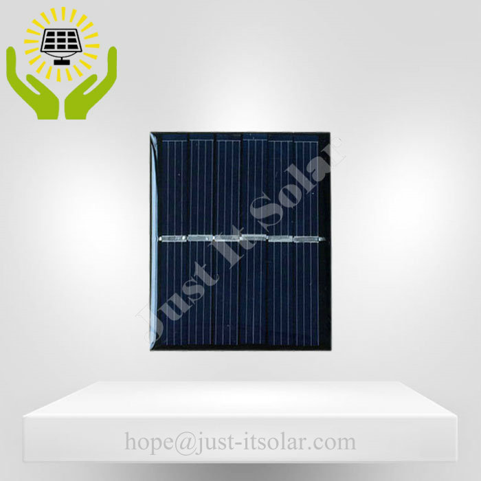 3V 100mA 0.3W Epoxy Resin Mini Solar Cell