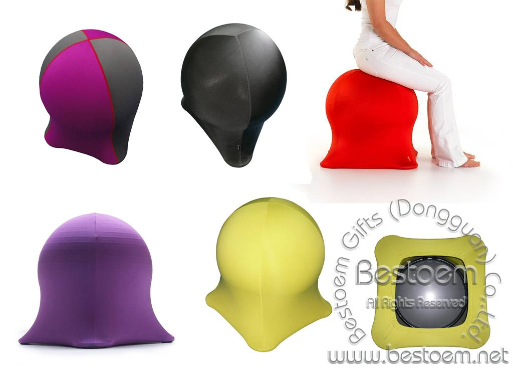 Neoprene And Lycra Balance Ball Cover Jelly Fish Chairs
