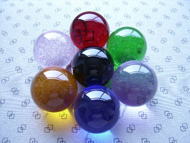 Crystal Ball,ball crystal centerpiece,different color crystal balls