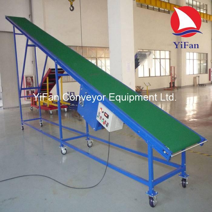 Inclined Climbing Belt Conveyor