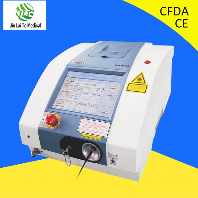 Medical Ce ISO 810nm Diode Laser Spider Vein Removal Machine