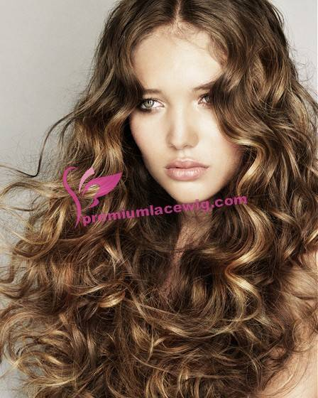 Indian remy lace wig