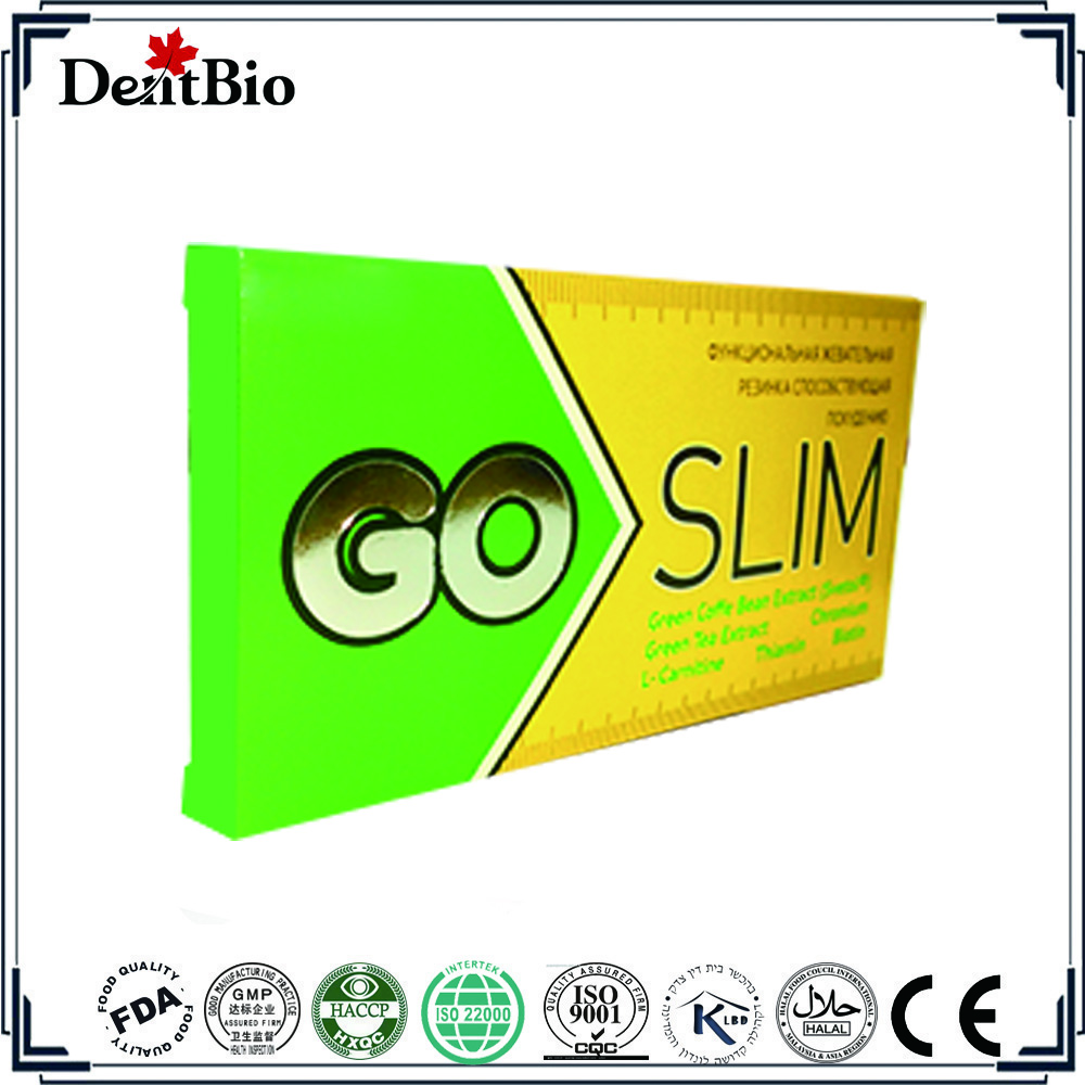 Fasting effect sugar free slim chewing gum