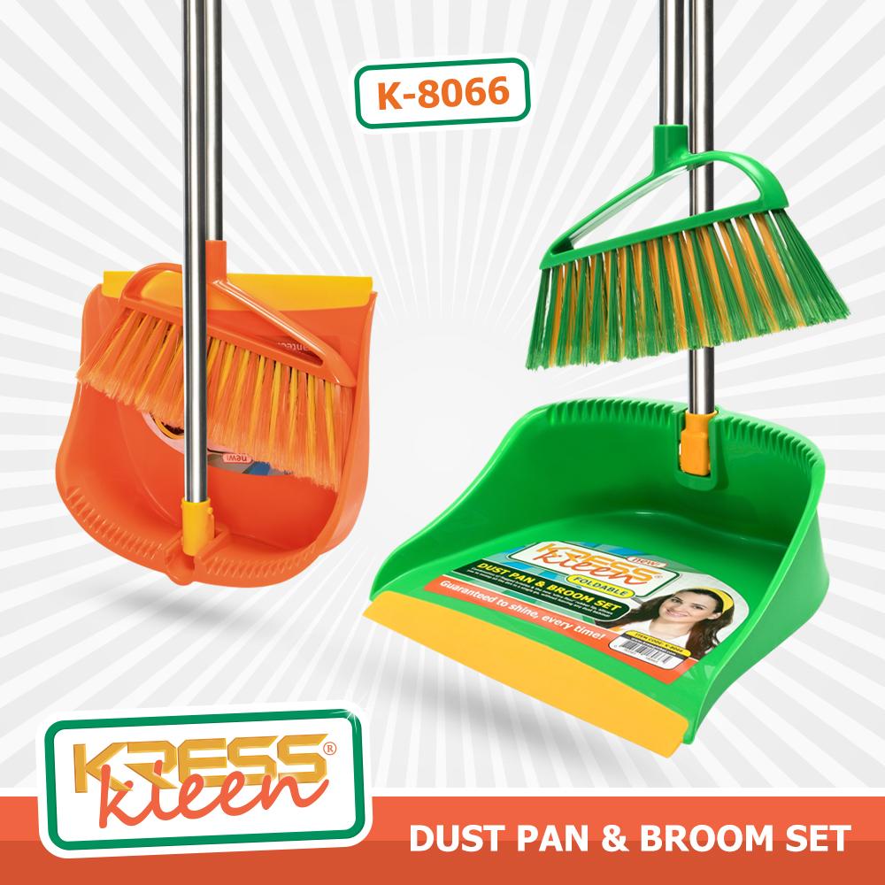 KRESS Kleen Foldable Dust Pan&Brush Set