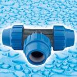 PP Compression Fittings for PE Connection