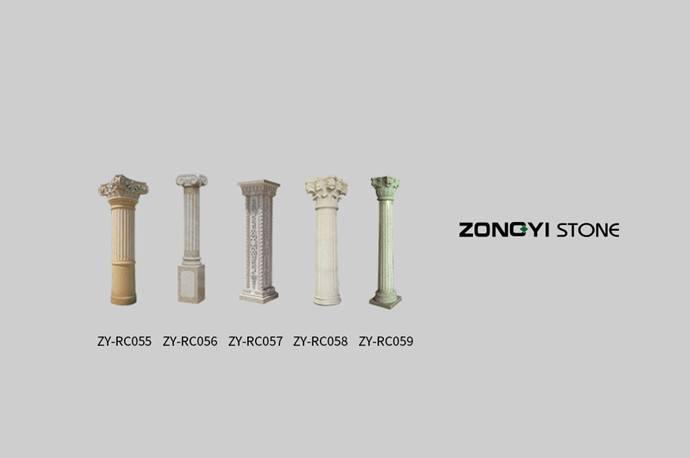 Stone Column( Ionic Column ,Doric Column,Corinthian Column)