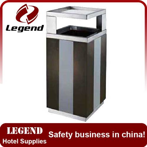 Stainless steel recycle waste dust bin for sale