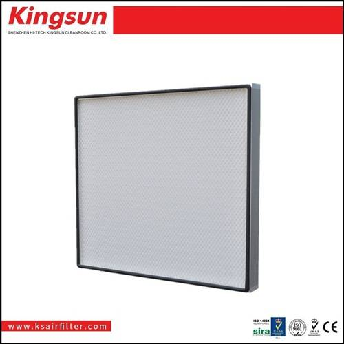 High efficency hepa h13 mini pleat filter
