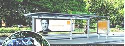 Bus Shelter Branding