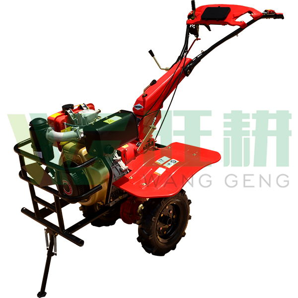 Agriculture cultivator 3-point rotary tiller with many accessories