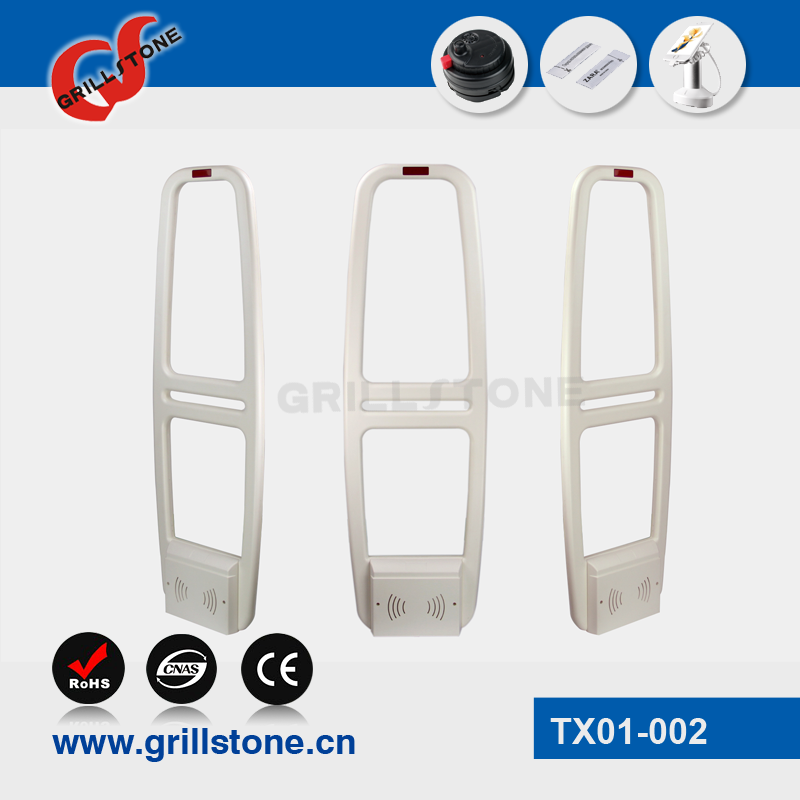 Grillstone ABS EAS retail gate security alarming gate anti-theft security gate